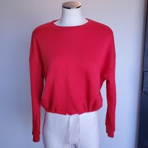 Forever 21 red sweatshirt